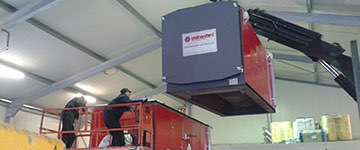 Installation of your Biomass combustion installation
